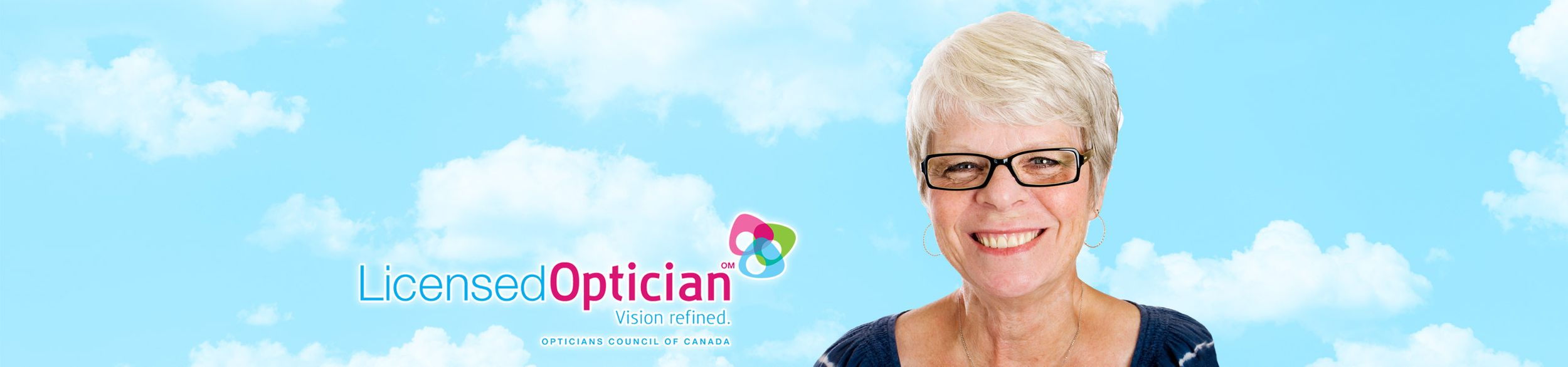Licensed Optician | Lady with Glasses