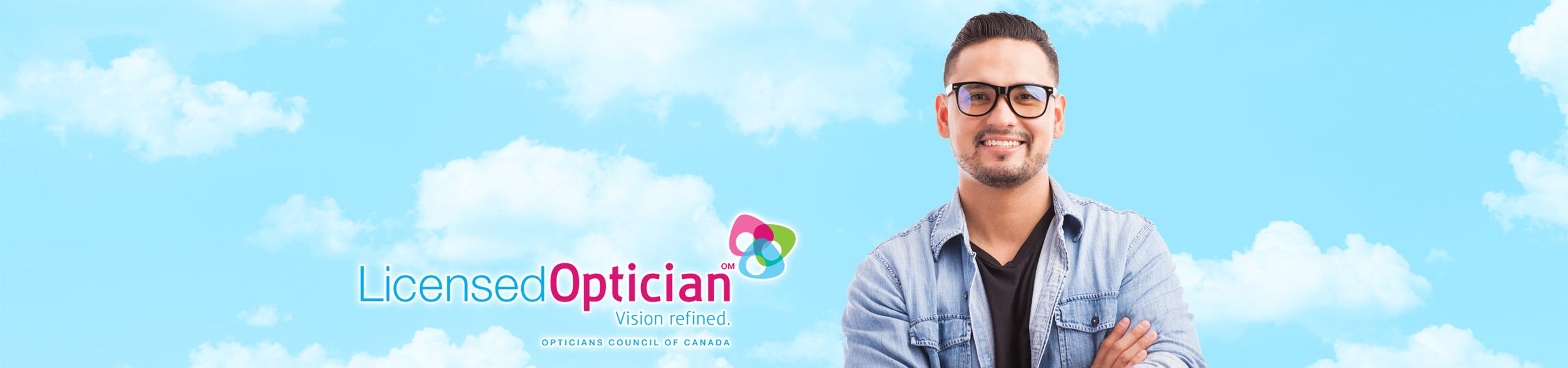 Licensed Optician | Guy with Glasses